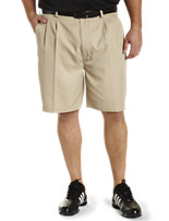 Reebok Golf Play Dry® Continuous Comfort™ Pleated Shorts
