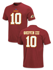 NFL Player Name and Number Tee