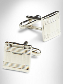 GB PLD SQR CUFF LINKS