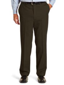 Geoffrey Beene® Wool Blend Flat-Front Pants