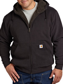 Carhartt® Brushed Sherpa-Lined Hooded Sweatshirt