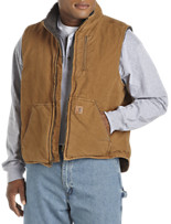 Carhartt® Sandstone Mock-Neck Vest