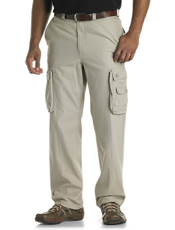 True Nation® Bellowed Cargo Pants