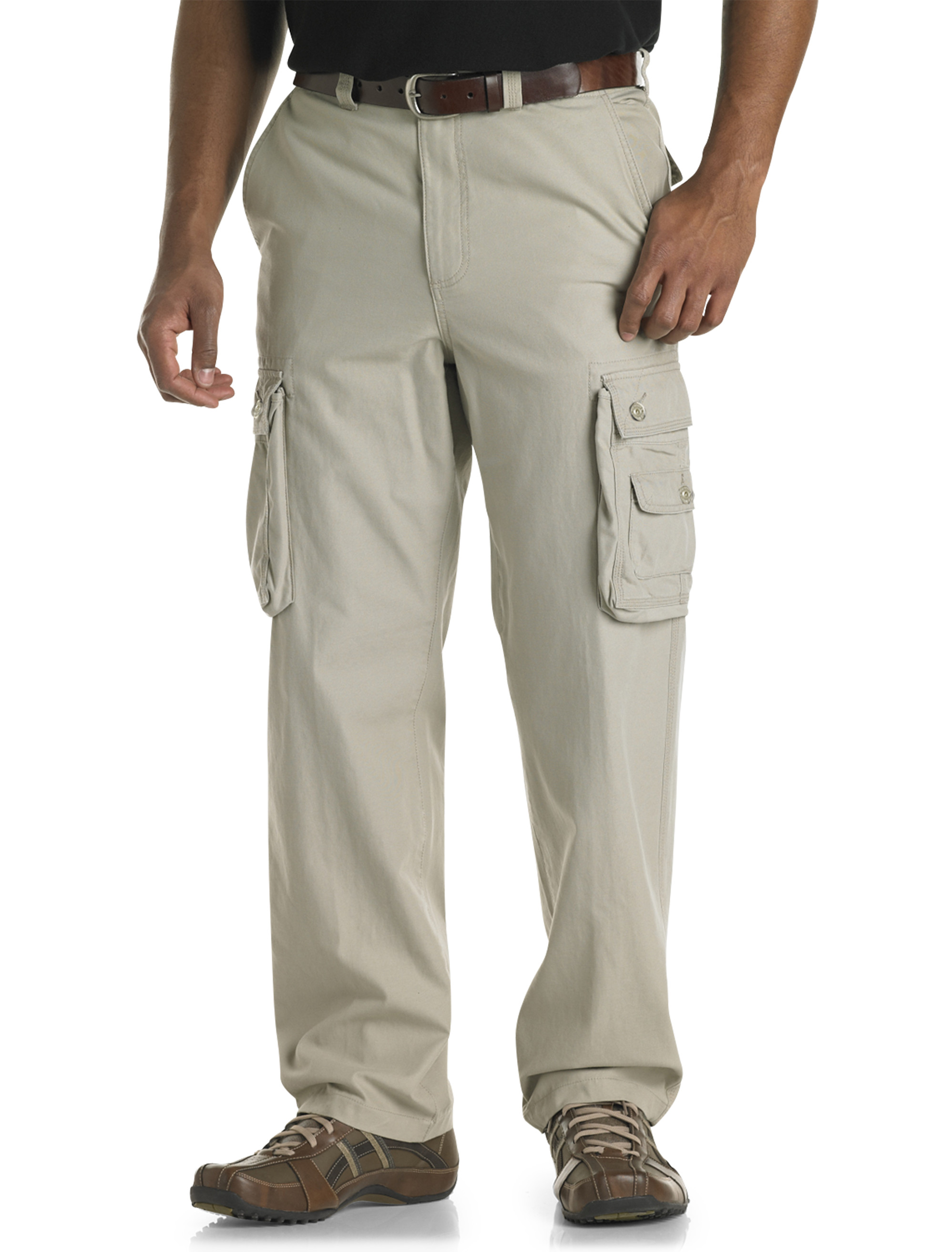 BIG & TALL CASUAL PANTS FOR MEN. A very broad category, casual pants can be considered any pair of pants that are not dress pants. This department contains everything from the ubiquitous denim jeans to five-pocket pants, chinos, sweatpants, and more situational garments like performance golf pants or drawstring linen pants.