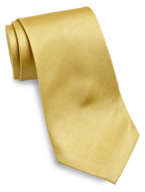 Gold Series Solid Silk Tie