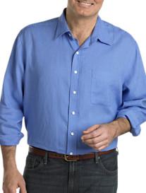 Oak Hill® Solid Linen Sport Shirt