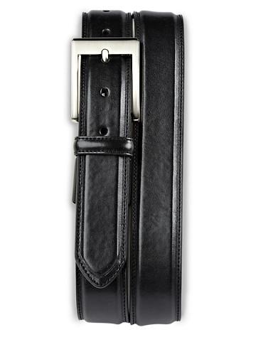 Harbor Bay® Extender Leather Dress Belt - ( Belts & Suspenders )