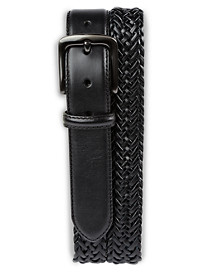 Harbor Bay® Braided Stretch Leather Belt