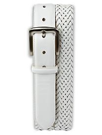 Harbor Bay® Braided Stretch Leather Belt