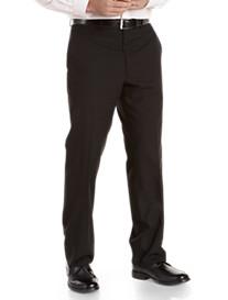 Geoffrey Beene® Tonal Flat-Front Suit Pants