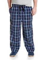 Harbor Bay® Plaid Woven Lounge Pants