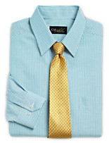 Gold Series™ Wrinkle-Free Cool & Dry Bengal Stripe Dress Shirt