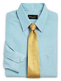 Gold Series Wrinkle-Free Cool & Dry Bengal Stripe Dress Shirt