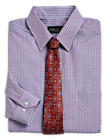 Gold Series™ Wrinkle-Free Cool & Dry Check Dress Shirt