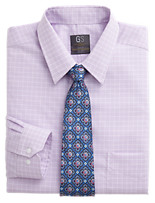 Gold Series™ Wrinkle-Free Cool & Dry Grid Dress Shirt