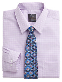 Gold Series Wrinkle-Free Cool & Dry Grid Dress Shirt