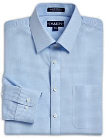 Damon® Check Ultra Poplin Dress Shirt
