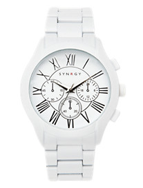 Synrgy™ White Bracelet Watch