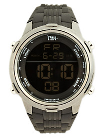 True Nation® Digital Watch with Silicone Strap