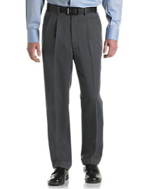 Silver Edition™ Waist-Relaxer® Pleated Dot Stripe Pants