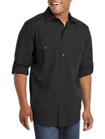 Synrgy™ Roll-Sleeve Sport Shirt