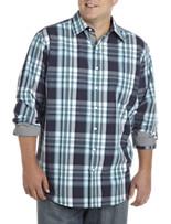 True Nation® Multi-Plaid Sport Shirt