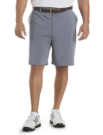 Reebok Golf PlayDry® Continuous Comfort™ Flat-Front Shorts ( Active Bottoms )