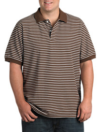 Harbor Bay® Skinny Stripe Polo