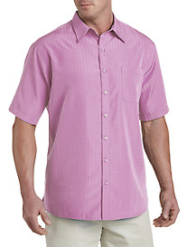 Harbor Bay® Short-Sleeve Microfiber Sport Shirt