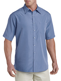 Harbor Bay® Short-Sleeve Microfiber Sport Shirt