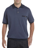Harbor Bay® Large Square Banded-Bottom Polo