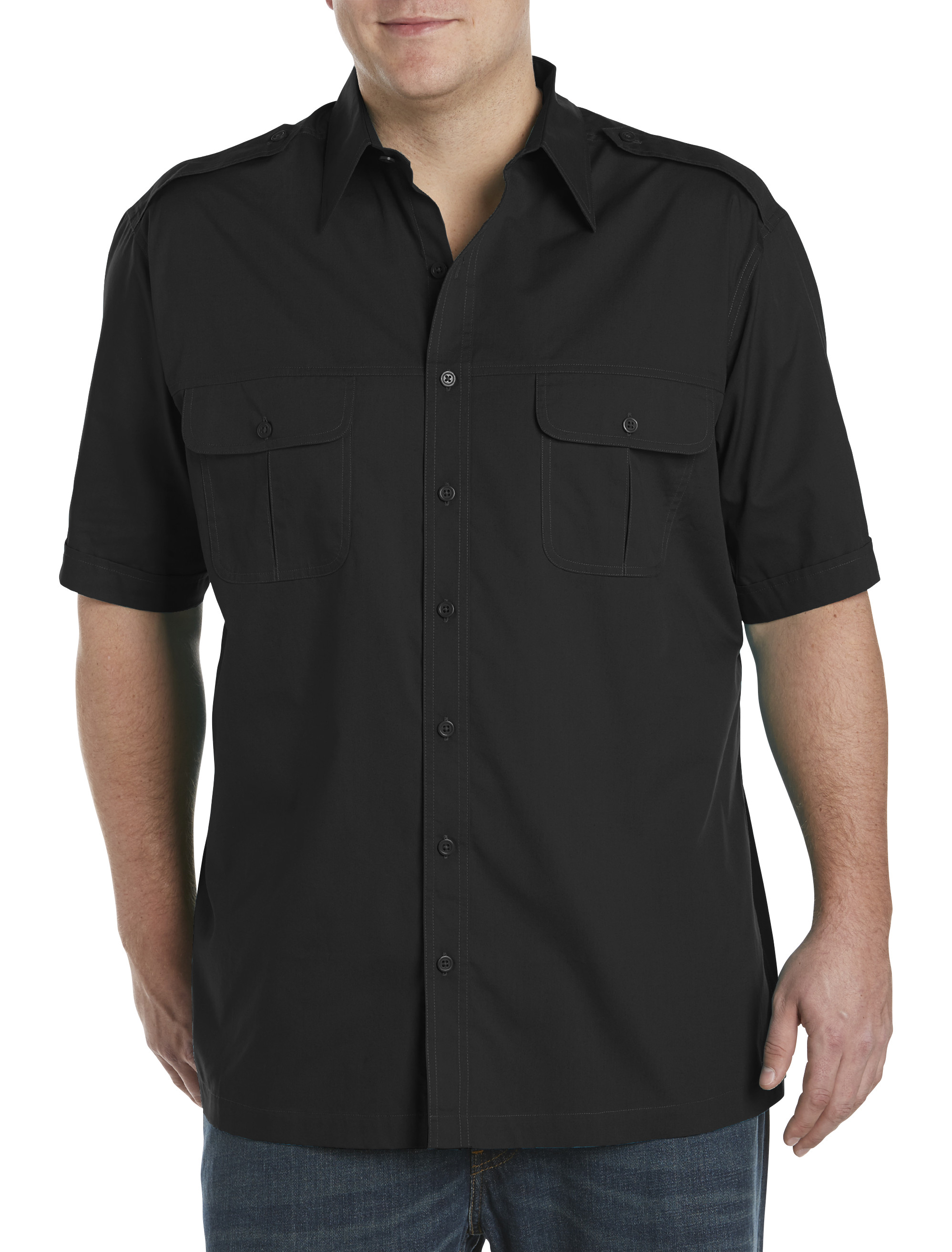 Find big and tall shirts for any occasion. Trying to find shirts on the rack that both fit well and look good can be tough for bigger men, but men's big and tall shirts are available in sizes ranging from LT to XLT all the way up to 9X.