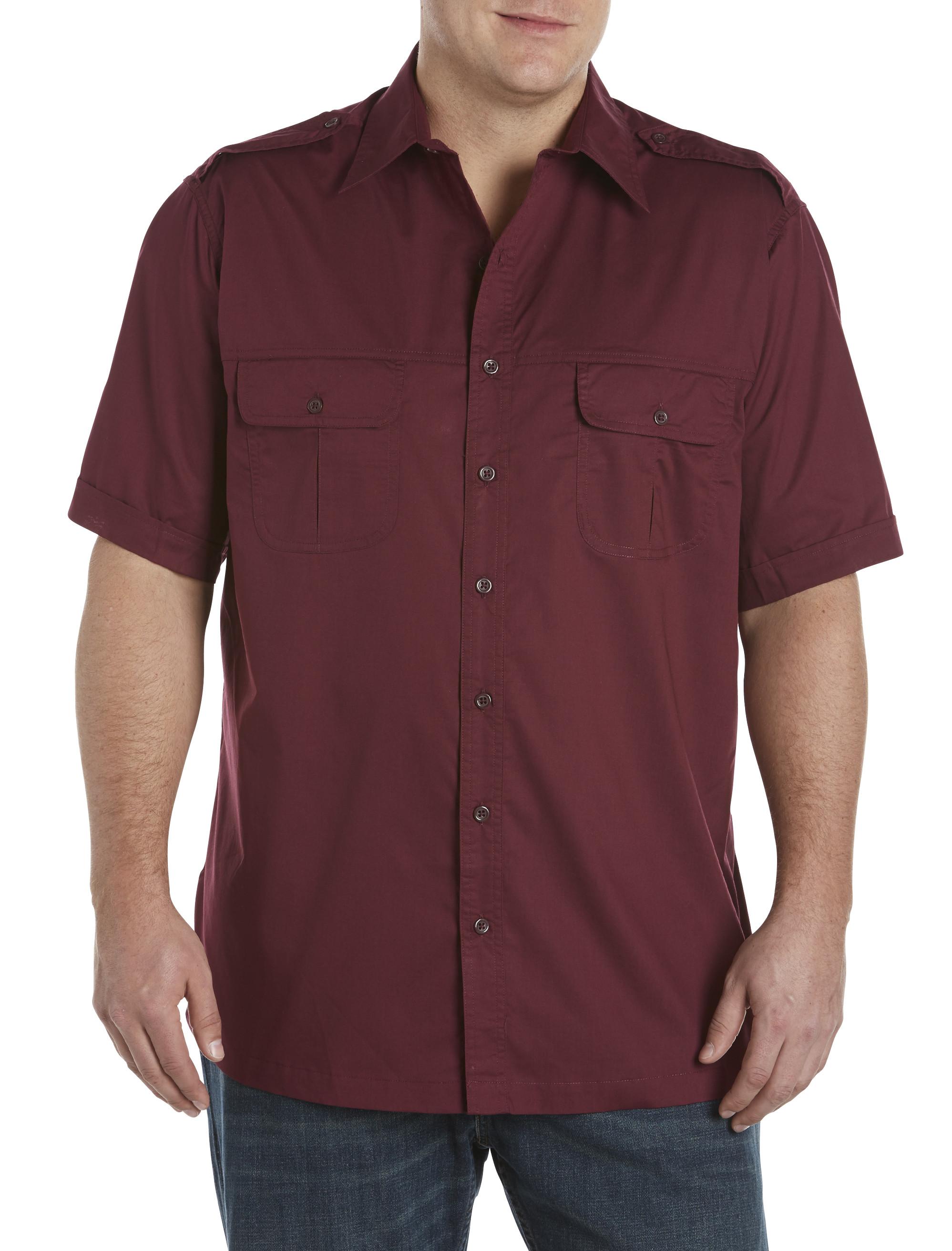 Harbor Bay Short Sleeve Pilot Sport Shirt Casual Male Xl