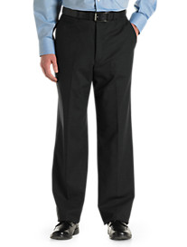 Jean-Paul Germain Wool-Blend Flat-Front Pants