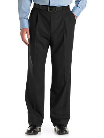 Jean-Paul Germain Wool-Blend Pleated Pants - $80.00