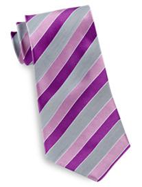 Geoffrey Beene® Melange Stripe Silk Tie