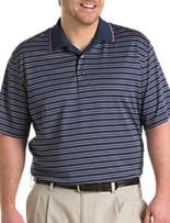 Reebok Golf Play Dry® Stripe Polo