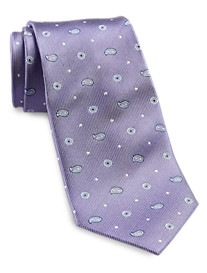 Gold Series Paisley Dot Tie