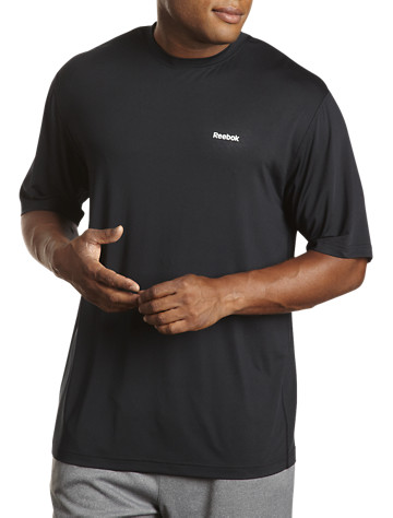 Reebok PlayDry® Short-Sleeve Base Layer Top - ( Active Tops )