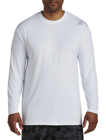 Reebok PlayDry® Long-Sleeve Base Layer Top - ( Active Tops )
