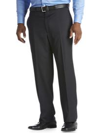 Geoffrey Beene® Pinstripe Flat-Front Suit Pants