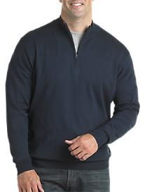Harbor Bay® Quarter-Zip Pullover Sweater