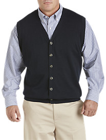 Oak Hill Button-Front Sweater Vest