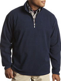 Harbor Bay® 1/4-Zip Fleece Pullover