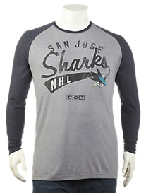 NHL Long-Sleeve Raglan Tee