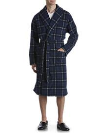 Harbor Bay® Plaid Fleece Robe