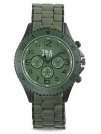 True Nation® Green Metal Bracelet Watch