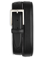 Harbor Bay® Double-Stitch Leather Belt