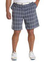 Reebok PlayDry® Plaid Golf Shorts