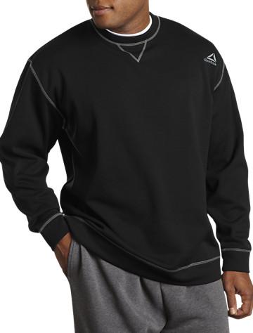 Reebok Play Dry® Fleece Crewneck | Sweatshirts
